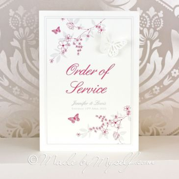 Butterfly Garden Order of Service